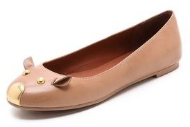 Marc by Marc Jacobs Mouse Ballet Flats on shopstyle.com