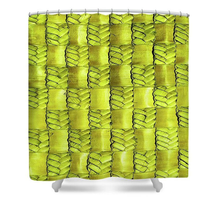 Flax Shower Curtain featuring the photograph Weaving Flax - Lemon/lime by Wairua o te Moana