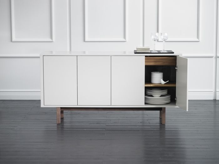 Ikea Stockholm Sideboard for stashing dish dinnerware. 328 best Dining Rooms images on Pinterest   Ikea  Ikea ideas and Live