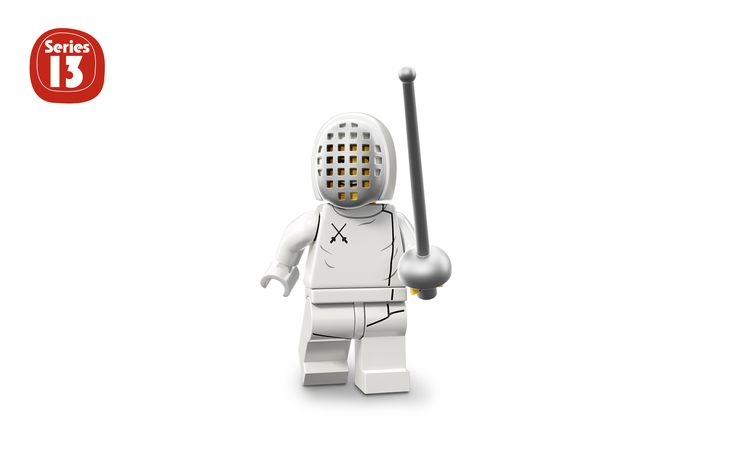 FENCER - Characters - Minifigures LEGO.com