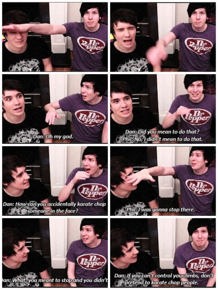 """""""If you can't control your limbs, don't pretend to karate chop people."""" with Danisnotonfire & Amazingphil XD ahaha love them! #SuperAmazingProject"""