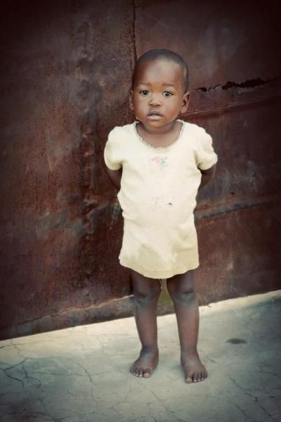 a lesson learned in the dust - Zambian child