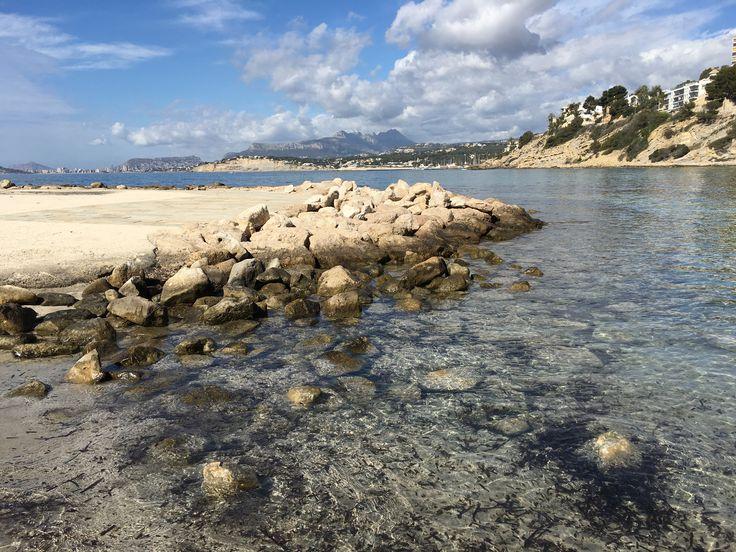 Moraira Costa Blanca. Playa El Portet