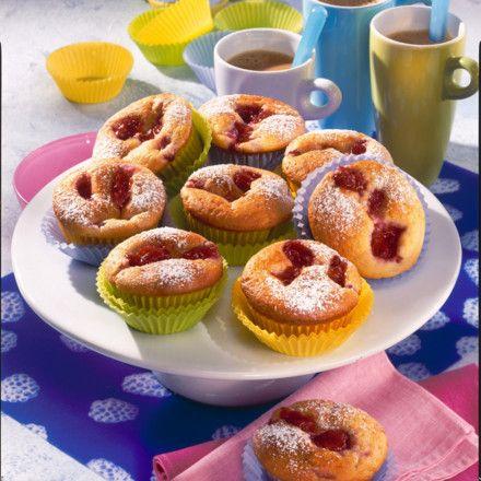 Himbeer-Buttermilch-Muffins Rezept | LECKER