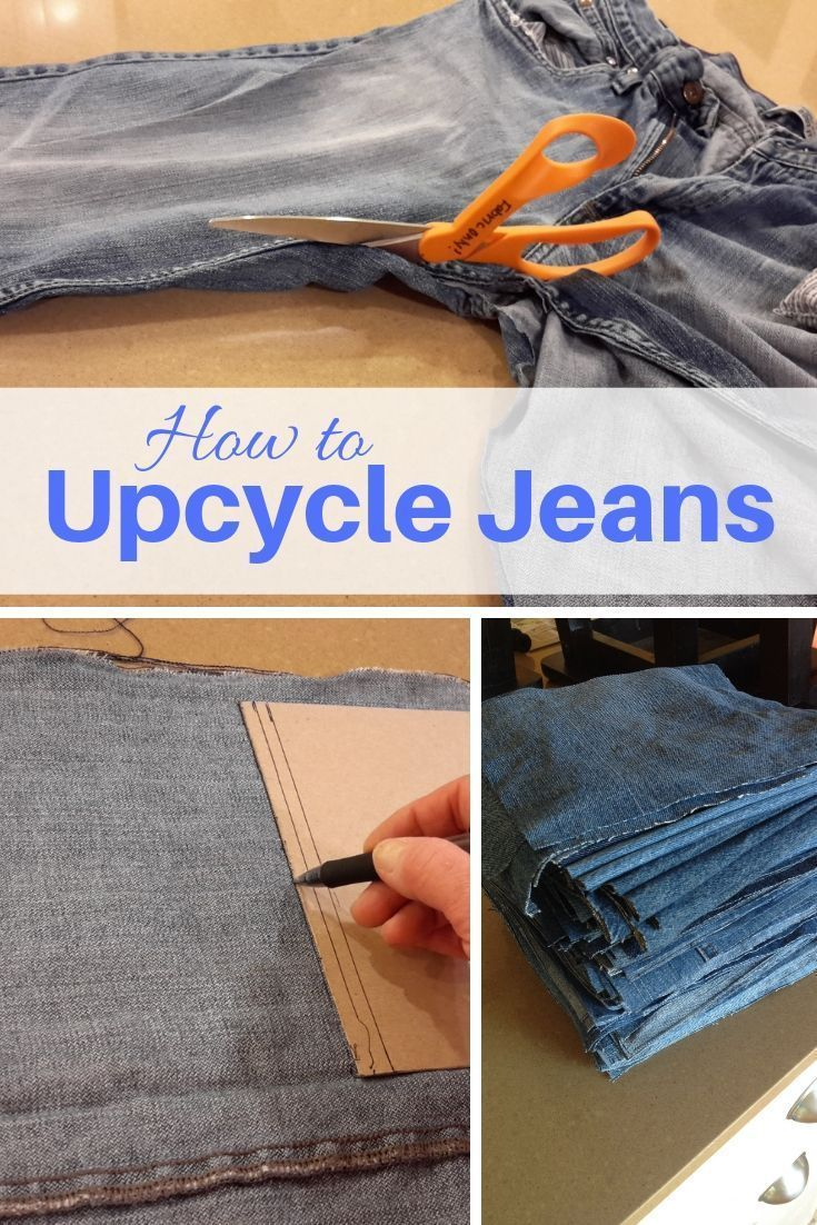 Upcycled Denim Jeans – Ideas and Tips