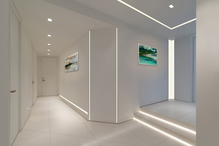 "Pure Lighting - TruLine 1.6a, 24VDC Plaster-In LED System TruLine 1.6A creates a clean line of glare-free general illumination within 5/8"" drywall. The 24VDC linear LED system features a shallow, 5/8"" deep plaster-in aluminum extrusion no thicker than drywall that houses two rows of high CRI, commercial grade white or RGB LED Soft Strip. Its 1.6"" wide diffuser lens projects a clean line of light without LED dots."