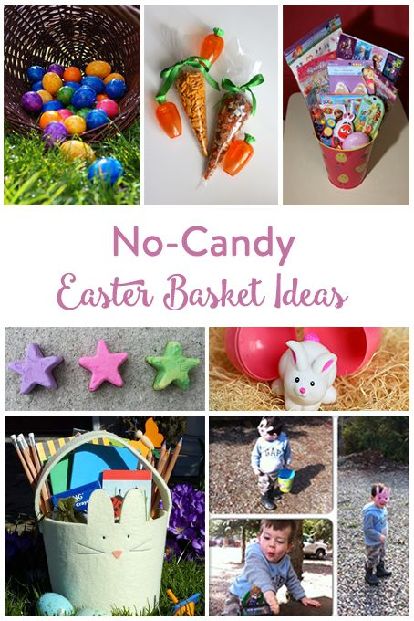 TheInspiredHome.org // No-Candy Easter Basket Ideas