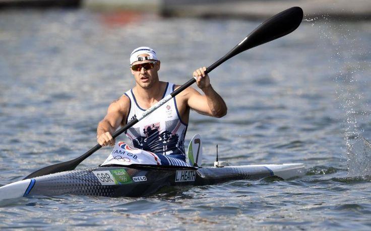 Liam Heath, Storbritannien vann guldet i herrarnas K-1 200m 35.192, silver Maxime Beaumont, Frankrike 35.362, brons Saul Craviotto, Spanien 35.662.