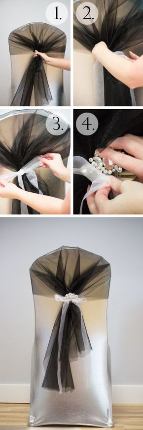 Organza is a beautiful, versatile fabric for decorating, and if you're crafty, they make gorgeous chair sashes. All you need is an organza roll and any supplementary decor you want to incorporate along with your crafty hands, and you are only a couple minutes away from chair sashes that will dazzle guests and add a …