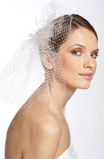 Tasha Birdcage Veil Hair Clip available at #Nordstrom