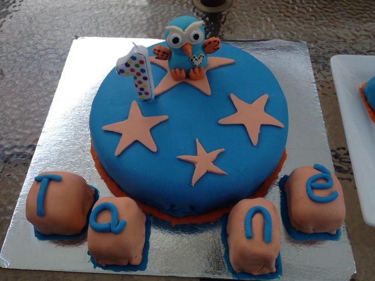 """Tanè's First Birthday cake!! """"Hoot"""""""