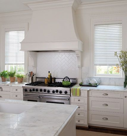 how to clean kitchen wood blinds