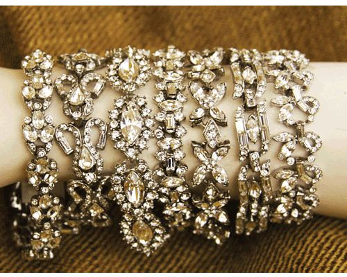 Crystal Bracelets- Lorren Bell ~Sign me up.