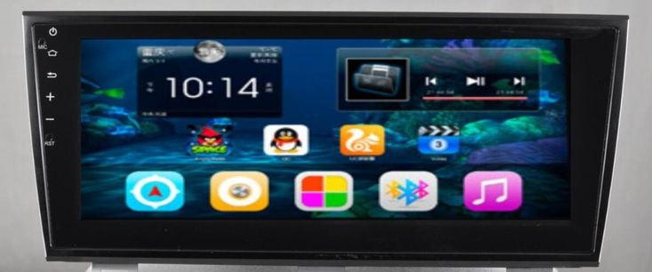 "10.4""Android 6.0 Car Dvd Gps Navi Audio for Subaru  Outback 2015  1024*600 OBD 1GB Wifi  3G support Original Steering wheel"