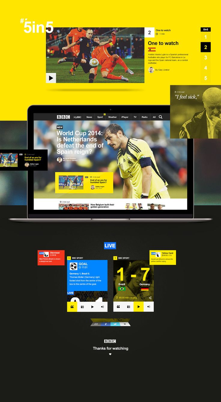 UI/UX BBC Homepage | Abduzeedo Design Inspiration