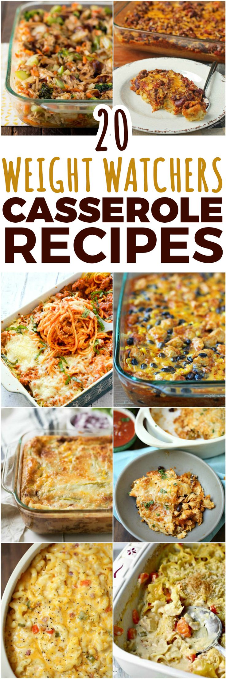 20 WEIGHT WATCHERS CASSEROLE RECIPES (SmartPoints)