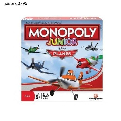 Early Learning Puzzles Kids Monopoly Disney Educational Games Toy Planes Fun