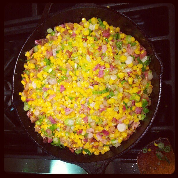 ... bacon kettle corn bacon corn hash recept yummly bacon and corn hash