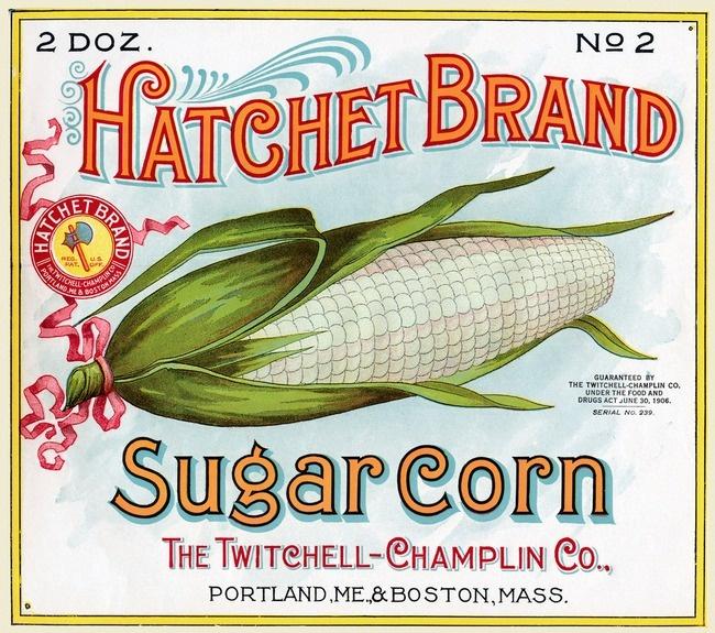 Vintage Seed Packet~ For Hatchet Brand Sugar Corn