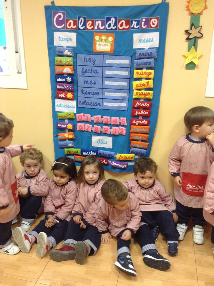 Calendario para centro infantil for Actividades divertidas para el salon de clases