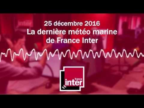 La dernière météo marine de France Inter