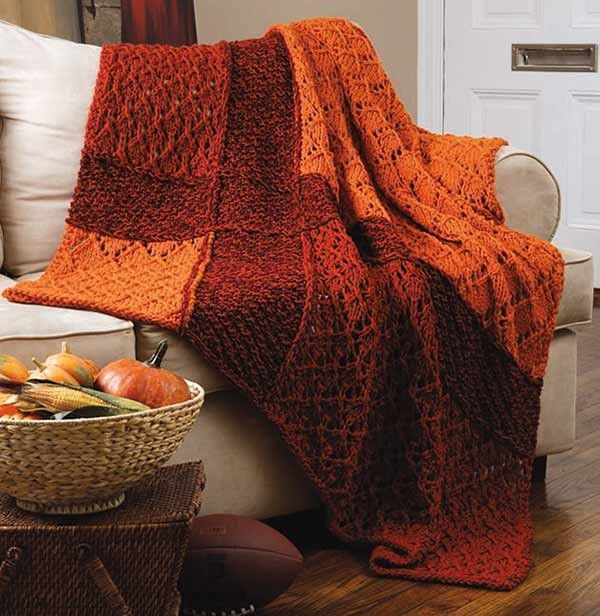 Classic Quick Knit Throws eBook - Decorate your home with a throw for each season. Four quick knit throws, each made…