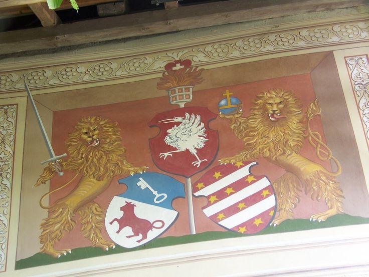 emblème à Gruyère Suisse
