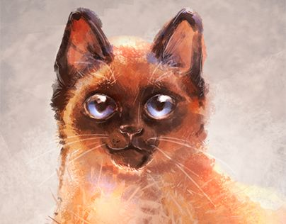 """Check out new work on my @Behance portfolio: """"Siamese"""" http://be.net/gallery/45726759/Siamese"""