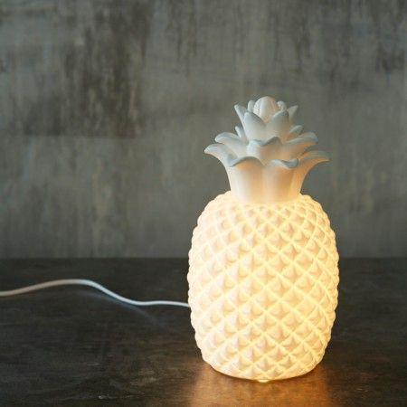Ceramic Pineapple Lamp - View All Lighting - Lighting - Lighting & Mirrors