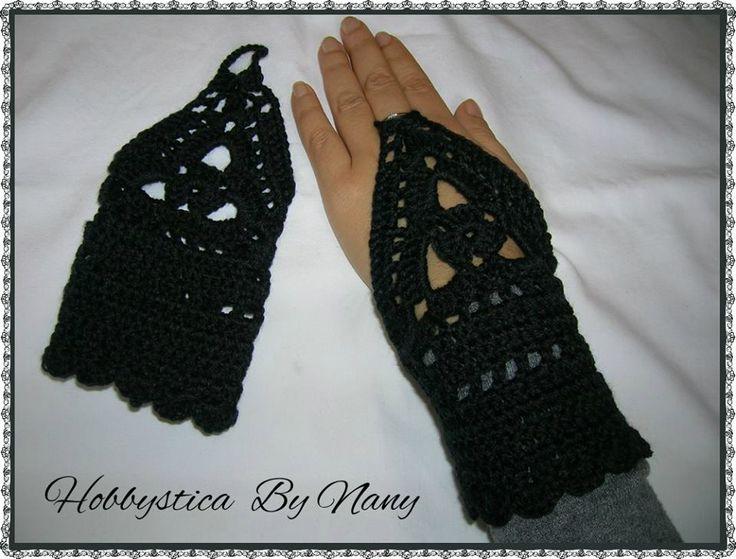 https://www.facebook.com/Hobbystica/ #gloves #crochet #lemaddine @lemaddine