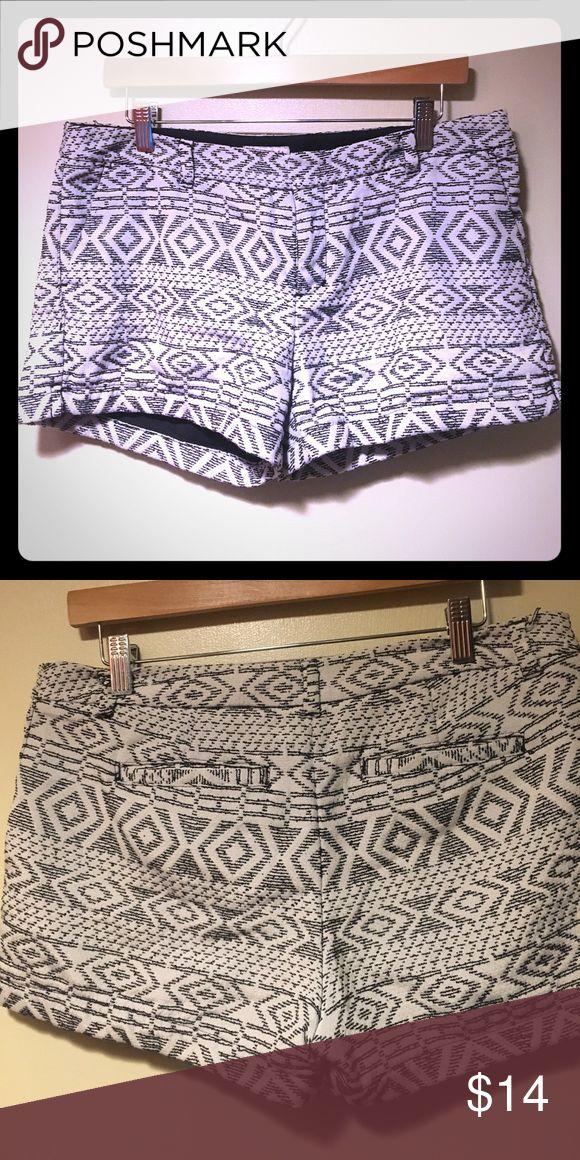 Aztec print shorts Aztec print shorts Merona Shorts Jean Shorts