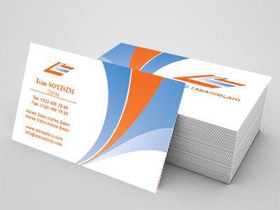 Turizm sektörü çalışanları için özel hazırlanmış kartvizit örnekleri