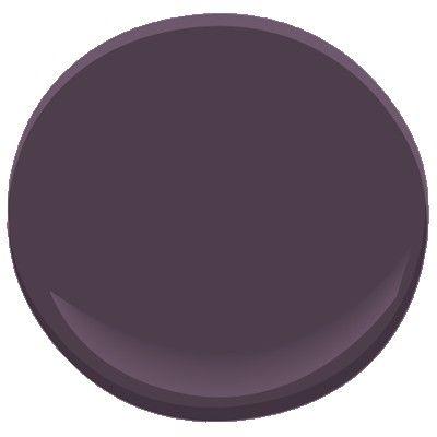 Purple Color Paint