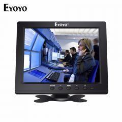 "[ $43 OFF ] Eyoyo 8"" 1024X768 Hd Tft Lcd Monitor Display Vga Bnc Video Audio Hdmi Input Portable Cctv Monitors Screen For Pc Vcd Dvd"