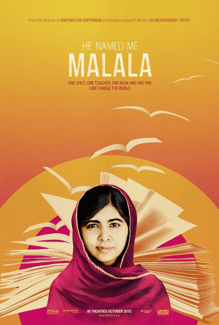 Fuck Yeah Movie Posters! — He Named Me Malala