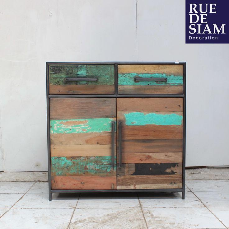 plus de 1000 id es propos de rue de siam meubles design industriels sur pinterest buffet. Black Bedroom Furniture Sets. Home Design Ideas