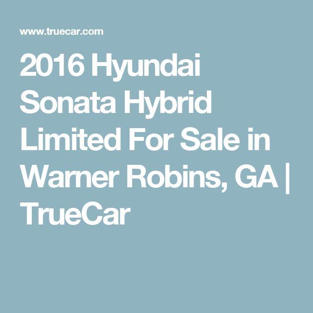 2016 Hyundai Sonata Hybrid Limited For Sale in Warner Robins, GA   TrueCar
