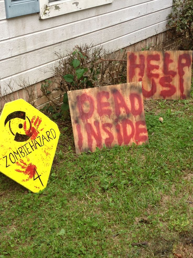 DIY Zombie Halloween