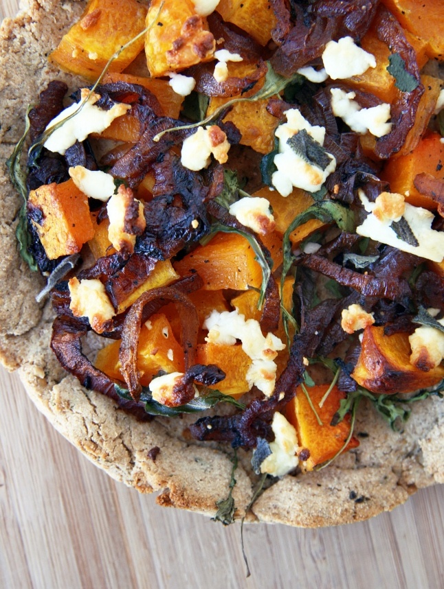 ... and Goat Cheese Pizza with Grain-Free Crust « Natural Noshing