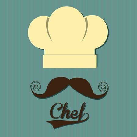 Placa Decorativa | Chef Mustache                                                                                                                                                                                 Mais