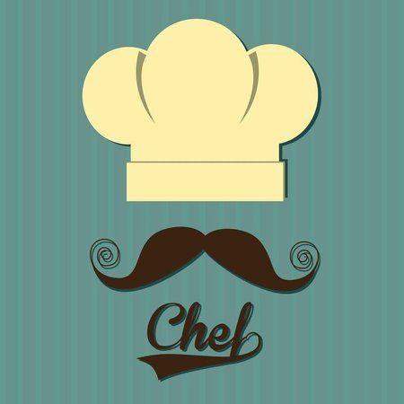 Placa Decorativa | Chef Mustache                                                                                                                                                                                 Mais