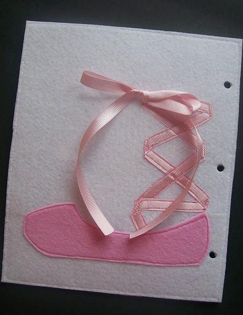 Ballet Shoe for tying.