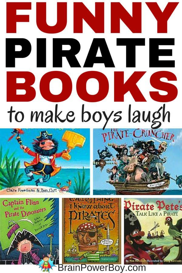 Super funny pirate books! 9 titles that are guaranteed to make your boys laugh out loud.