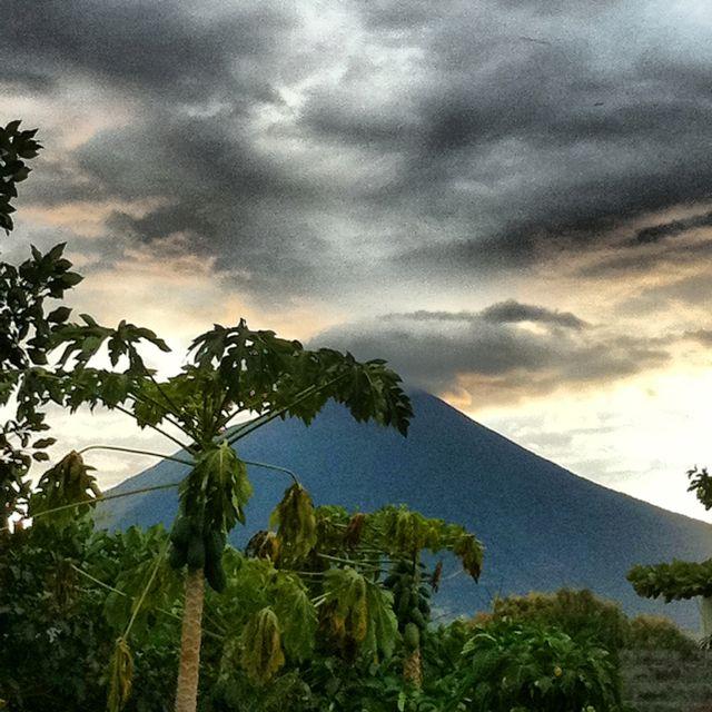 San Miguel, El Salvador. Sky meets Volcano.