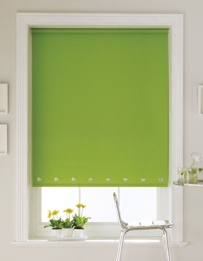 lime green wooden blinds | Acacia Lime Zest Green Roller Blinds Details and blind guarantee
