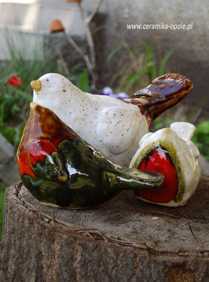 ceramic birds  Małgorzata Orlik