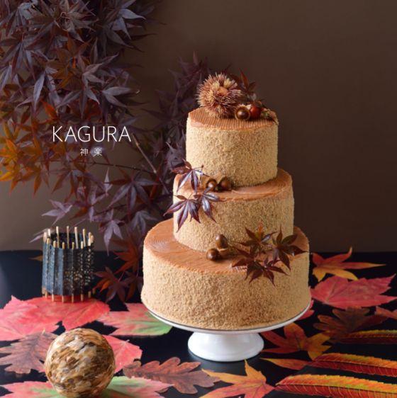mont blanc wedding cake
