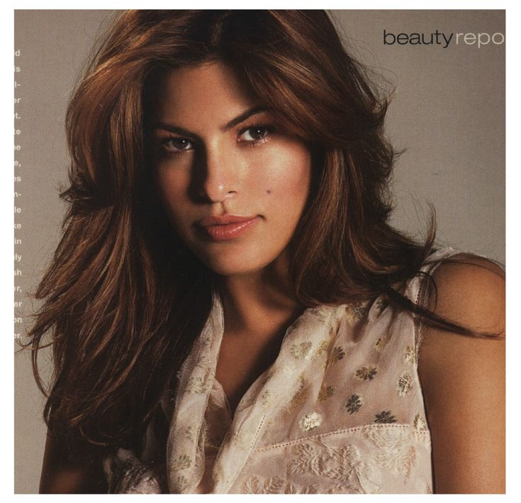 Eva Mendes Hair Color And Highlights Eva Mendes Hair Color