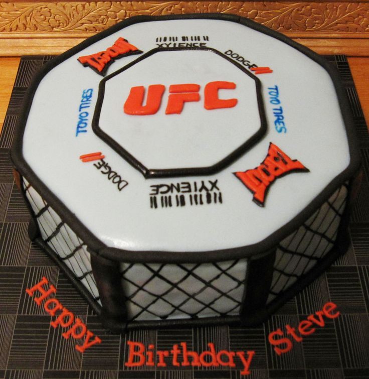 Ufc Cake Toppers
