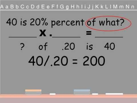 This video will give teachers a model to help them teach their own students how to solve percentage problems using reading skills. This video shows an easy way to remember the steps for solving percentage problems and how to convert decimal numbers to percentages and percentages to decimals.  It uses connections to prior learning for middle scho...